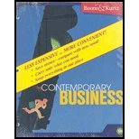 9780470453094: Contemporary Business, 13th Edition Binder Ready Version