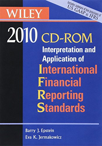 9780470453230: Wiley Interpretation and Application of International Financial Reporting Standards 2010