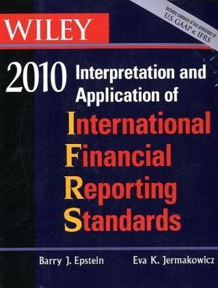 9780470453247: WILEY Interpretation and Application of International Financial Reporting Standards 2010, Book and CD-ROM Set (Wiley Ifrs)