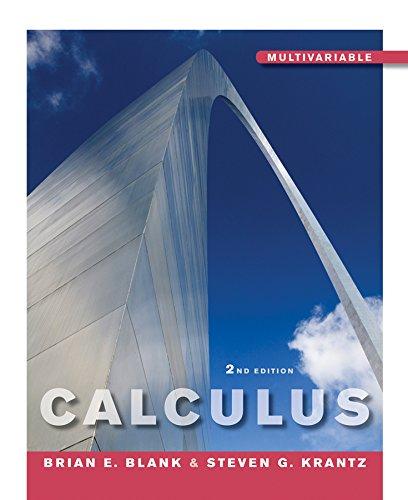 Calculus Multivariable (Hardback): Brian E. Blank, Steven G. Krantz