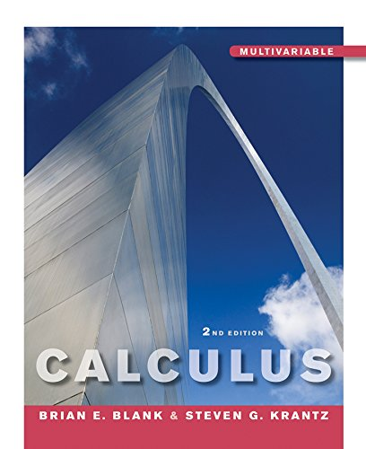 9780470453599: Calculus Multivariable