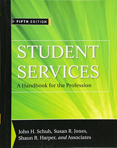 9780470454985: Student Services: A Handbook for the Profession