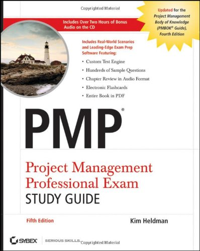9780470455586: PMP Project Management Professional Exam Study Guide, Includes Audio CD
