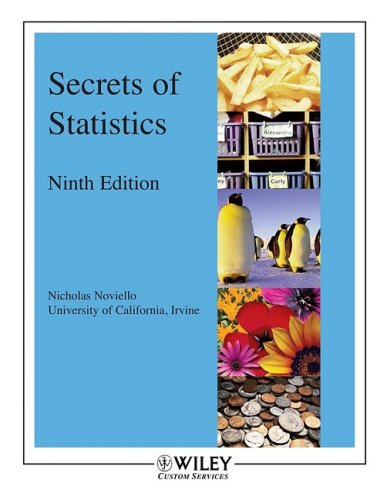 9780470456507: Secrets of Statistics 9th Edition with SPSS Student Version 16.0 Set