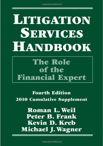 9780470456996: Litigation Services Handbook: The Role of the Financial Expert