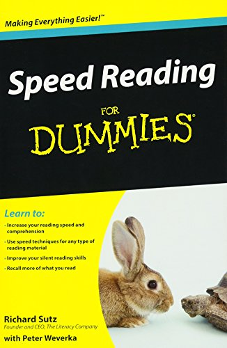 9780470457443: Speed Reading for Dummies