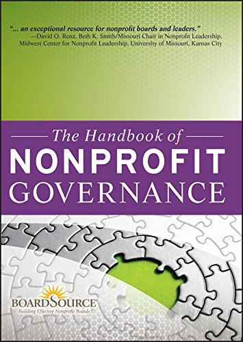 9780470457634: The Handbook of Nonprofit Governance (Essential Texts for Nonprofit and Public Leadership and Management)