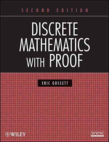 9780470457931: Discrete Mathematics with Proof
