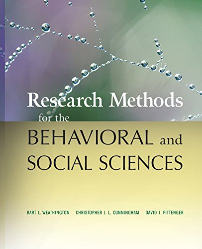 9780470458037: Research Methods for the Behavioral and Social Sciences