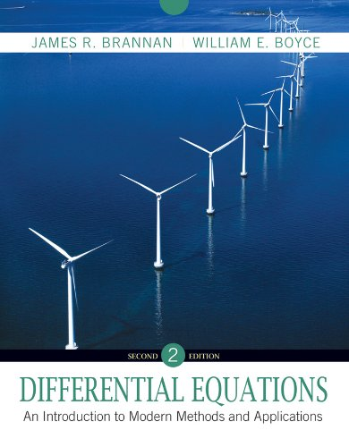 9780470458242: Differential Equations: An Introduction to Modern Methods and Applications