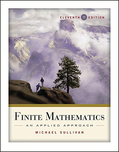9780470458273: Finite Mathematics: An Applied Approach