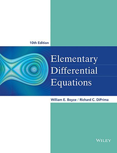9780470458327: Elementary Differential Equations
