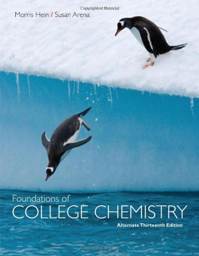 9780470460603: Foundations of College Chemistry, Alternate