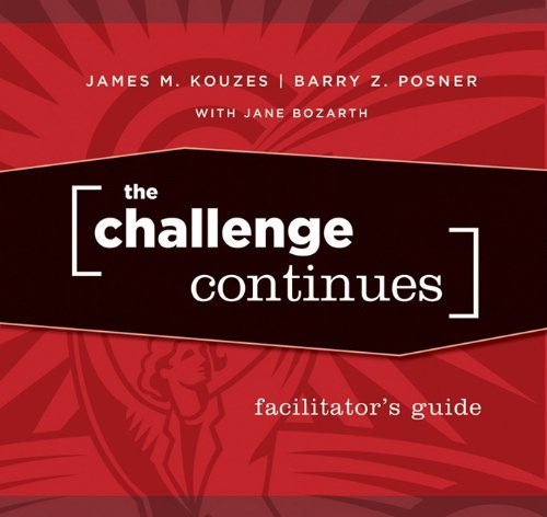 9780470462379: The Challenge Continues Facilitator's Guide Set
