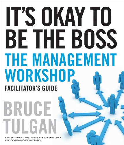 9780470462409: It's Okay to Be the Boss Facilitator's Guide Set