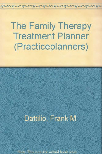 9780470462713: TheraScribe: The Family Therapy Treatment Planner (TheraScribe Add-on Module)
