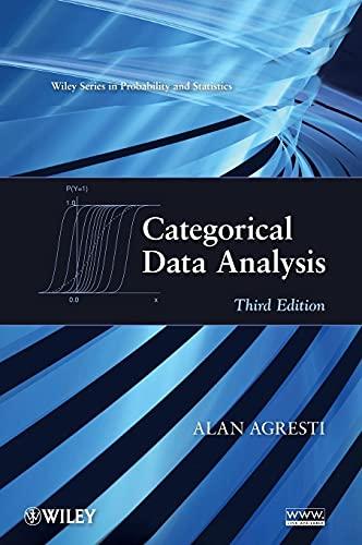 9780470463635: Categorical Data Analysis