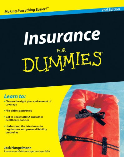 9780470464687: Insurance for Dummies