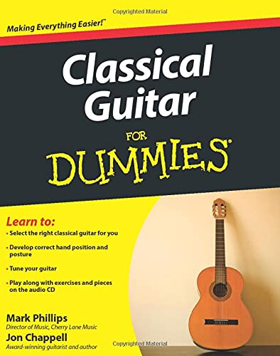 9780470464700: Classical Guitar For Dummies