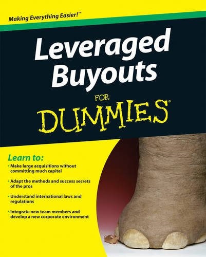 9780470466001: Leveraged Buyouts for Dummies? (For Dummies Series)