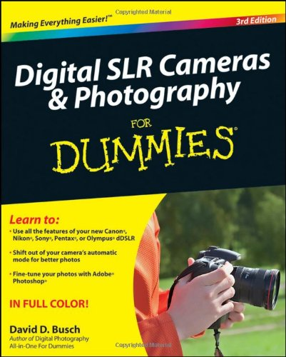 9780470466063: Digital SLR Cameras and Photography For Dummies