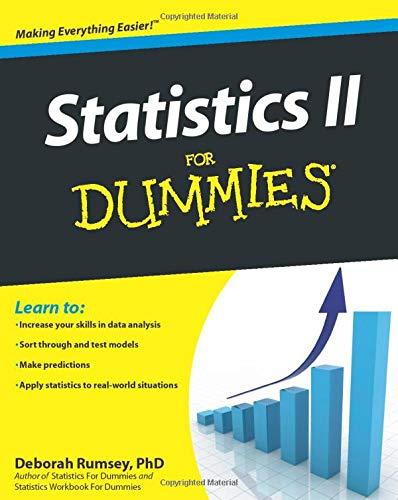 9780470466469: Statistics II for Dummies