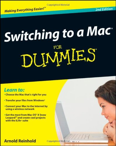 9780470466612: Switching to a Mac For Dummies