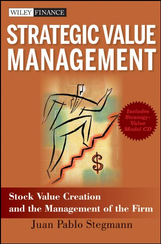9780470467107: Strategic Value Management: Stock Value Creation and the Management of the Firm