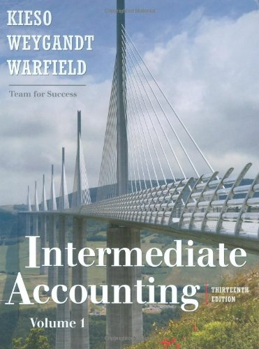 Intermediate Accounting (Hardback): Donald E. Kieso, Jerry J. Weygandt, Terry D. Warfield