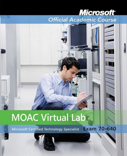 9780470468593: Exam 70-640 MOAC Labs Online (Microsoft Official Academic Course Series)