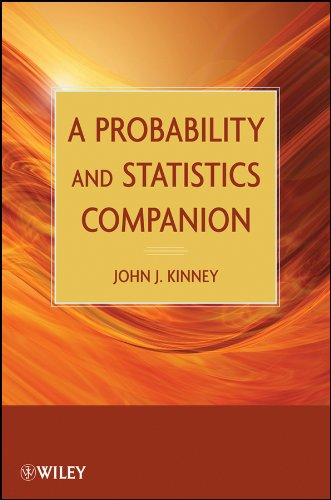 9780470471951: A Probability and Statistics Companion