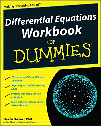 9780470472019: Differential Equations Workbook For Dummies
