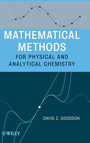 9780470473542: Mathematical Methods for Physical and Analytical Chemistry