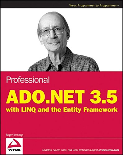 9780470473887: Professional ADO.NET 3.5 with Linq and the Entity Framework