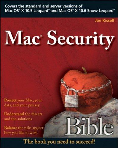 9780470474198: Mac Security Bible