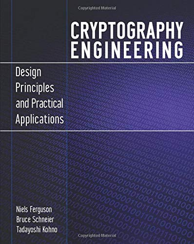 9780470474242: Cryptography Engineering: Design Principles and Practical Applications