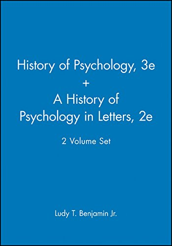 9780470474327: A History of Pyschology 3e & A History of Psychology in Letters 2e, 2 Volume Set