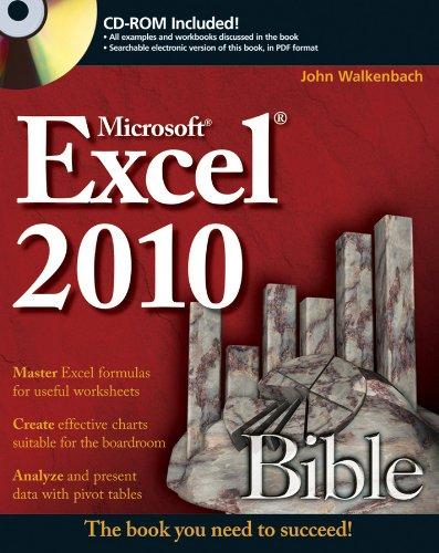9780470474877: Excel 2010 Bible
