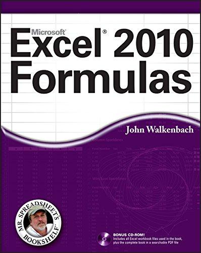9780470475362: Excel 2010 Formulas