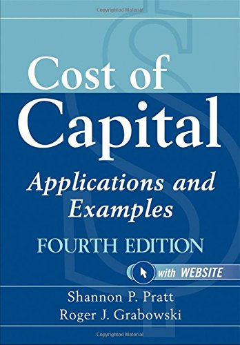 9780470476055: Cost of Capital: Applications and Examples