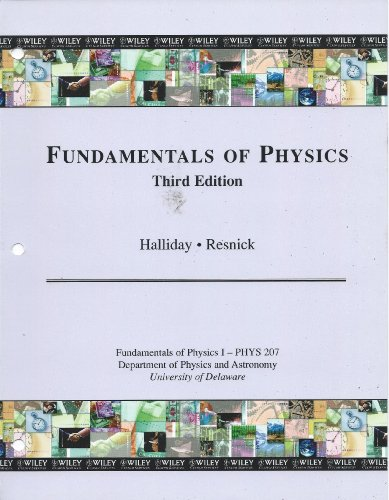 9780470476116: Fundamentals of Physics, 3rd Edition