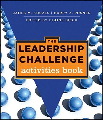 The Leadership Challenge: Activities Book: James M. Kouzes,