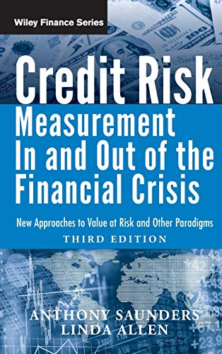 9780470478349: Credit Risk Management In and Out of the Financial Crisis: New Approaches to Value at Risk and Other Paradigms