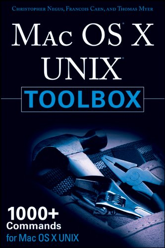9780470478363: Mac OS X Unix Toolbox: 1000+ Commands for the Mac OS X Power Users