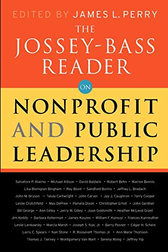 9780470479490: The Jossey-Bass Reader on Nonprofit and Public Leadership