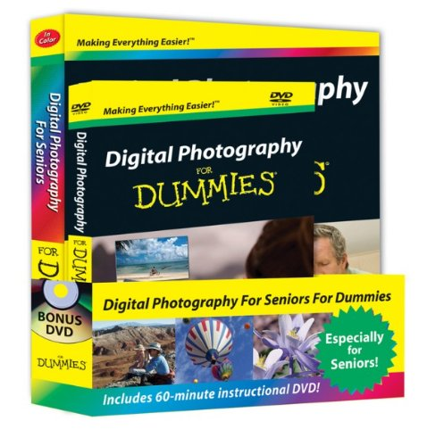 9780470479926: Digital Photography For Seniors For Dummies®, DVD + Book Bundle