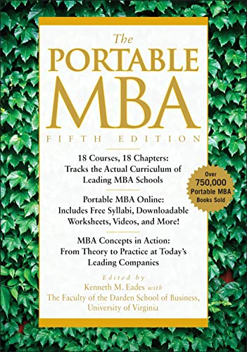 9780470481295: The Portable MBA