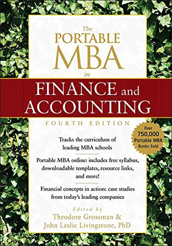 9780470481301: The Portable MBA in Finance and Accounting