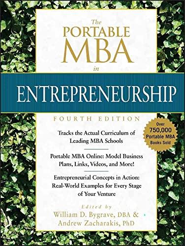 9780470481318: The Portable MBA in Entrepreneurship