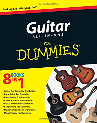 9780470481332: Guitar All-in-One For Dummies